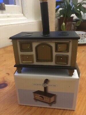 Dolls House Miniature 1:12th Scale Silver Hob Cooker Unit