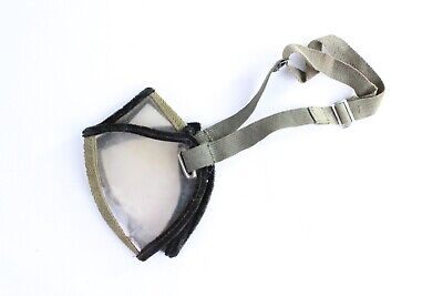 Vintage Lightweight Motorcycle/ Motoring / Bicycle Foldaway Goggles. WWII era