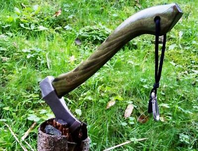 FORGED VIKING TOMAHAWK AXE HATCHET CAMPING BUSHCRAFT HUNTING TOOL 0,300 kg