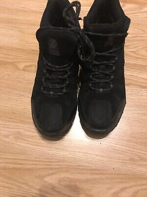 Gelert  Black Size 7  Waterproof Walking Hiking Boots. Mens Womens Exc Con