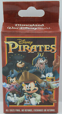 NEW Disney Parks Disney Pirates Mystery Box Set UNOPENED 2 Pin 83688