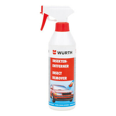 **Genuine Würth Insect Remover Window Cleaner Cleanser Remover 500ml**