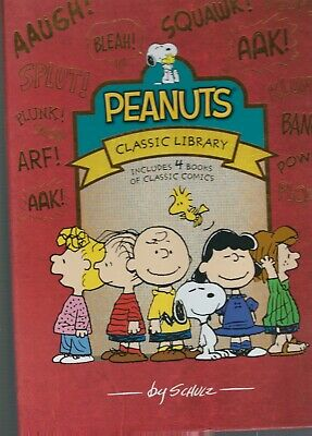 PEANUTS CLASSIC LIBRARY  1950-1967 in 4 Slipcased Volumes