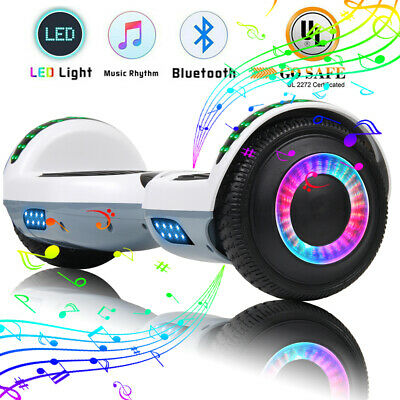 """6.5"""" Hoverboard Bluetooth Electric Self Balance Scooter with Bag nht Hoverheart"""