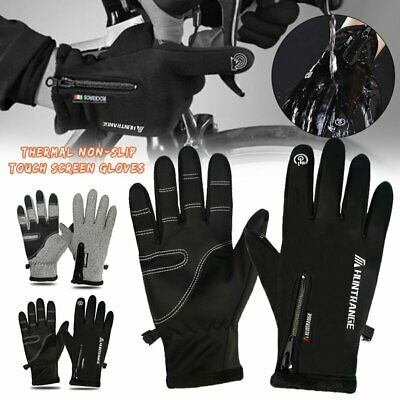 Touch Screen Gloves Windproof Thermal Winter Sports Skiing Warm Mittens Men Wome