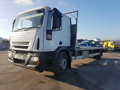 2011 Iveco 180E28 - 32ft Flat Bed Body - Tested - Adblue