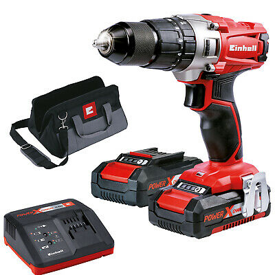Einhell TE-CD 18/2 Li-I Kit Power X-Change 18 V Cordless Hammer Drill Kit