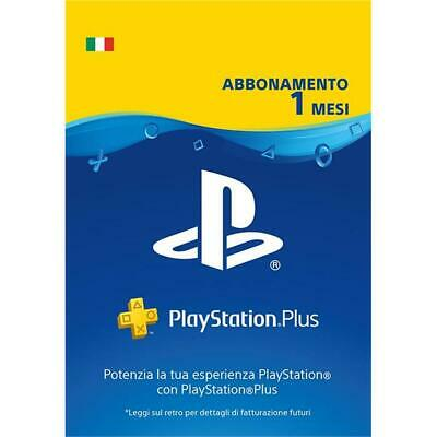 Sony PlayStation Plus Card 1 Mese