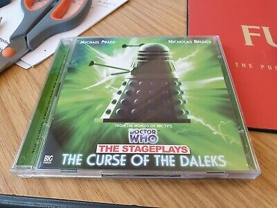 Doctor Dr Who Big Finish Cd - The Stageplays - Curse Of The Daleks