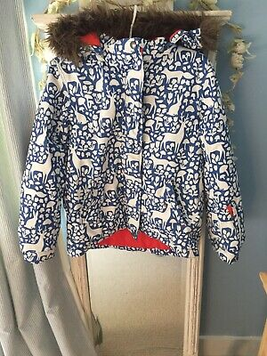 Mini Boden Girls Coat Age 11/12
