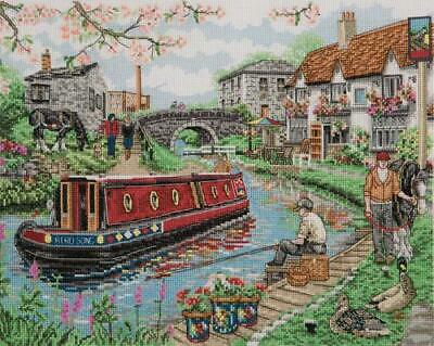Anchor Cross stitch kit - PCE936 Country canal