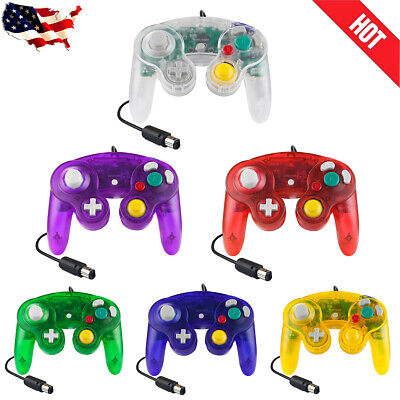 2x NEW Shock Game Controller Pad for Nintendo Gamecube NGC Wii Multiple Colors