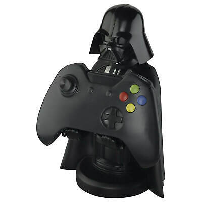 """Star Wars Darth Vader Cable Guy 8"""" PS4 / Xbox One Controller, Phone Holder - NEW"""