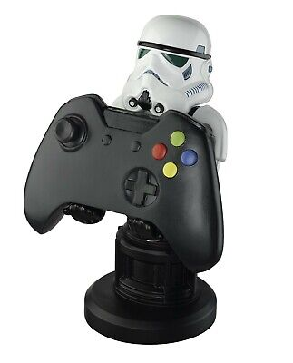 """Star Wars Stormtrooper Cable Guy 8"""" PS4 / Xbox One Controller, Phone Holder, NEW"""