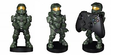 """Halo Master Chief Cable Guy 8"""" PS4 / Xbox One Controller, Phone Holder - NEW"""