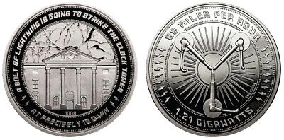 Back to the Future Coin - Clocktower | Official New