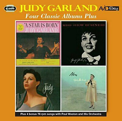 Judy Garland - Four Classic Albums Plus (A Star Is Born / Miss Show [CD]