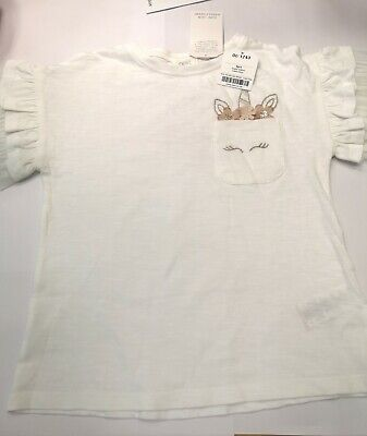 girls NEXT new top t-shirt with tags size 4