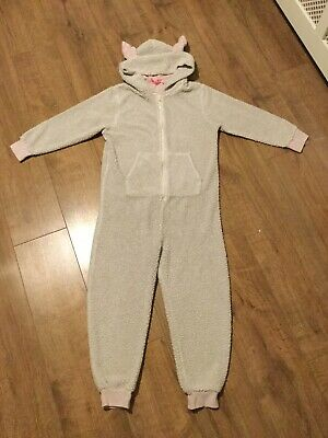 Next Girls One Piece All In One Zip Up Sleep-suit - Age 10 Years