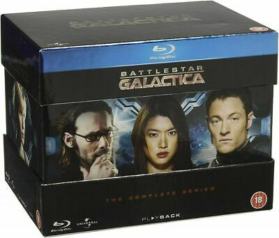 Battlestar Galactica: The Complete Series [Blu-ray] NEW SEALED