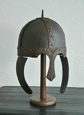 Medieval Viking Iron Helmet with Nose Guard 9th - 11th AD - Europe