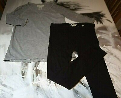 top and leggings set age 9-10 years H&M