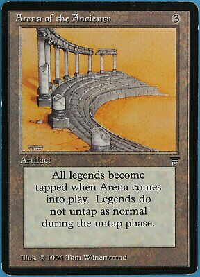 Arena of the Ancients Legends HEAVILY PLD Rare MAGIC CARD (ID# 38143) ABUGames
