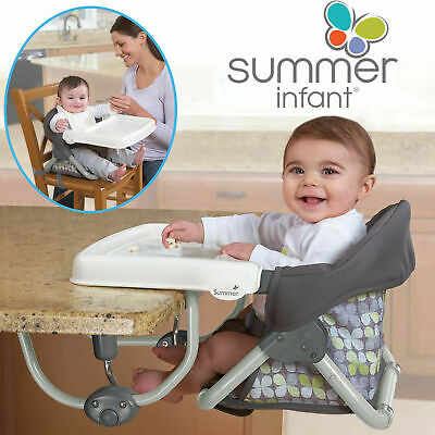Summer Infant Secure Portable Feeding Booster Seat Travel High Chair 3 In 1