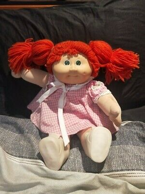 Red Hair Vintage Coleco Cabbage Patch Kid Doll OK