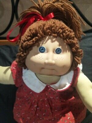 Made in Spain Jesmar Cabbage Patch Kid Doll with Freckles