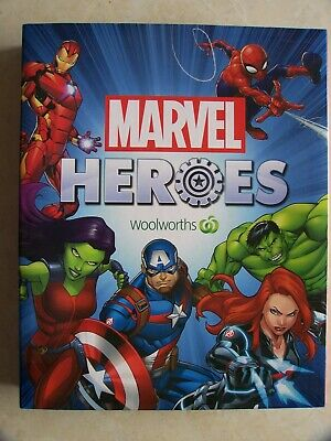 Marvel Heroes Disc Full Set + Folder Woolworths 42 In total