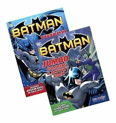 Up 2 Pack Batman Jumbo Coloring Activity Book 96 Pages Drawing Sketch Pads