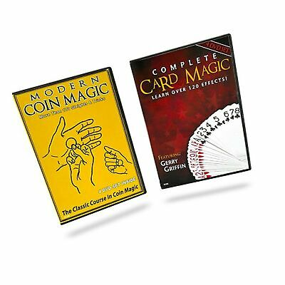 Magic Makers Complete Card Magic and Modern Coin Magic, Ultimate Combo Set, O...