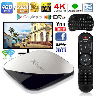 TV BOX X88 PRO Android 9.0 4GB+32GB DDR3 WiFi Internet Media Player + Keyboard