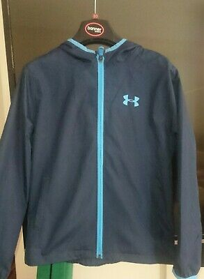 Unisex Under Armour Bag Shower Proof Jacket Size Junior Small - Hardly worn