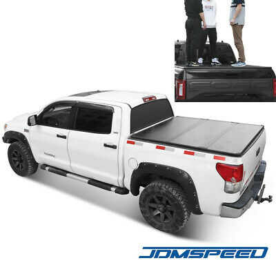 JDMSPEED Hard Tri-Fold Tonneau Cover For 2016-2019 Toyota Tacoma 5ft Bed