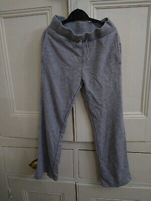 Girl's Grey Trousers Jogging Bottoms Age 7-8