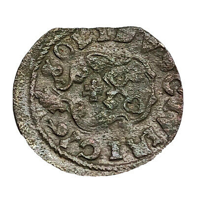 Authentic Medieval European Coin Middle Ages Artifact Token Medal Old Rare E24