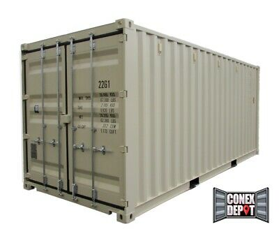 20FT New One Trip Shipping Container For Sale in Detroit, MI - We Deliver