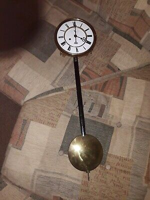 Schutz Clock Movement,face And Pendulum