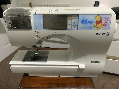 Brother Innovis 500D Embroidery Sewing Machine no bottom block
