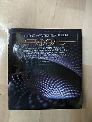 """Tool Fear Inoculum CD Deluxe Limited Edition 4"""" HD Screen Sealed New"""