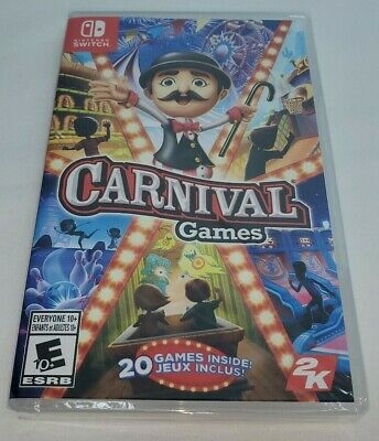 Carnival Games ( Nintendo Switch ) New & Sealed