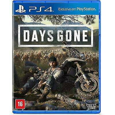 Days Gone PS4 (Sony PlayStation 4, 2019) Great condition - Region Free