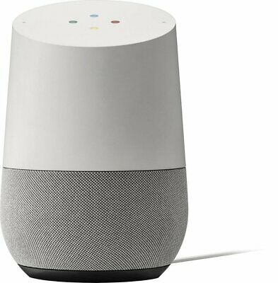 Google Home Personal Assistant Voice Activated Speaker - White Slate (Brand New)
