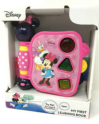 Disney Minnie Mouse | My First Learning Book | Electronic Light & Sound Age 1yr+