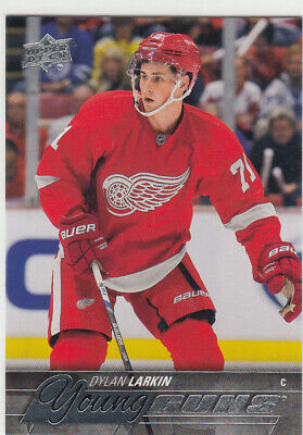 2015/16 Upper Deck Young Guns 228 Dylan Larkin Detroit Red Wings Rookie RC