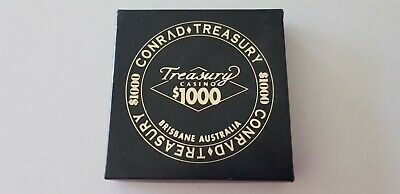Gold Look*Conrad Treasury Casino**Coasters* New