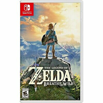 [LATEST] NEW Zelda Breath of The Wild For Nintendo Switch Lite Console BOTW Link