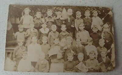 Early 1900s Australian Boy Scout Group Photo Post Card ( Lot P1)